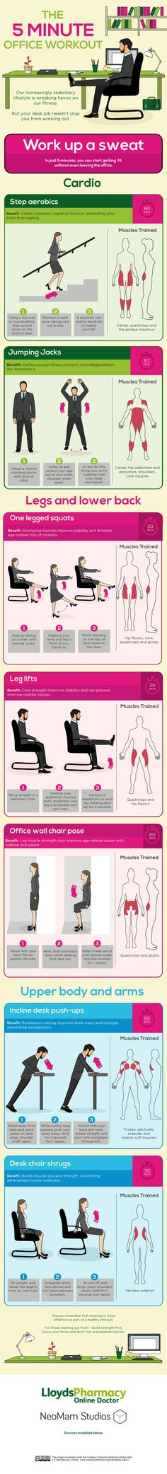 The 5 Minute Office Workout