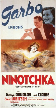 Greta Garbo Ninotchka Movie Poster
