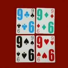 Low Vision Playing Cards – E-Z See