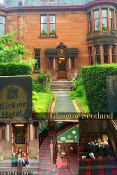 Drop Your Bags At The Kirklee Hotel Glasgow Scotland