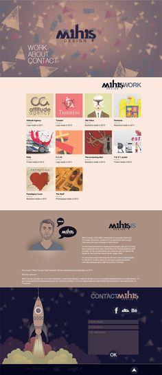 MihisDesign Web on Behance