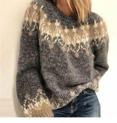 Women's Fashion Long Sleeve Fair Isle Sweater Plus Size Oversized Swea – undaylily Source by UndaylilyShop Casual Sweaters, Cardigan Sweaters For Women, Long Sleeve Sweater, Cardigans, Argyle Sweaters, Oversized Sweaters, Poncho Sweater, Cropped Cardigan, Long Cardigan