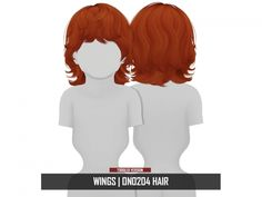 WINGS ON0204 HAIR | TODDLER VERSION - The Sims 4 Download - SimsDomination Sims 4 Hair Male, Sims 4 Male Clothes, Sims 4 Clothing, Male Hair, Kids Clothing, Sims 4 Toddler Clothes, Toddler Girl Outfits, Toddler Fashion, Toddler Girls