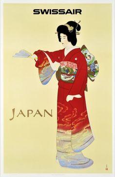 Japan - Swissair