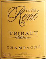 """Best Champagne ever? Quite possibly! $60 Tribaut-Schloesser Cuvee Rene NV """"70% Chardonnay and 30% Pinot Noir. The grapes are selected from the estate's best parcels. Vanilla aromas due to the ageing in small old oak barrels. Hazelnuts and rich, toasted flavours with a hint of honey."""""""