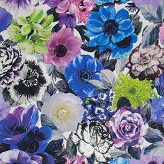 Oriana - Crocus fabric, from the Pavonia collection by Designers Guild