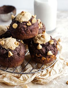 Skinny Chocolate Peanut Butter Muffin Cakes | Tasty Kitchen: A Happy Recipe Community!