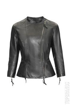 Кожаная куртка Izeta Л-1111 за 45000 руб. Интернет магазин брендовой одежды премиум-класса онлайн бутик - Topbrands.ru