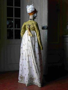 Gorgeous Regency gown with an amazing Spencer jacket. <3