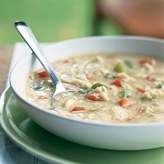 101 Healthy Soup Recipes | Savannah-Style Crab Soup | CookingLight.com