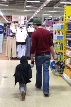 This dad who lets his kid go out dressed as Batman. | 24 People Who Are Really Nailing This Parenting Thing
