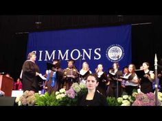 Woman on Campus: And crown thy good with sisterhood!, Commencement 2012