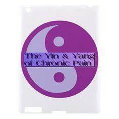 Yin & Yang Of Chronic Pain Apple iPad 3/4 Hardshell Case from Fun With Fibro