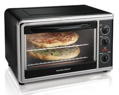 I love that this one can fit TWO 9x13 casseroles. I cannot imagine being able to cook a casserole in the summer. Hamilton Beach Countertop Oven with Convection and Rotisserie by Hamilton Beach, http://www.amazon.com/dp/B0059KY05M/ref=cm_sw_r_pi_dp_AS8Krb1Z3PM36