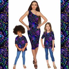 13222032a 52 Best Mommy&Me #matching images | Trajes coincidentes, Vestidos ...