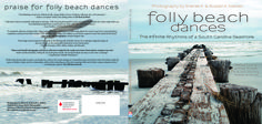 Folly Beach Dances by Sheree K. and Russell A. Nielsen | A collection of beach photography and poems and reflections from award-winning women writers. | (proofreading and interior and cover design – 2014)