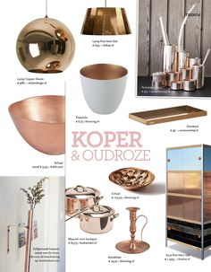 Koper en (oud) roze in de woonkamer Gold Home Decor, Baby Bedroom, V60 Coffee, Colorful Interiors, Coffee Maker, Sweet Home, New Homes, Kitchen Appliances, Inspiration