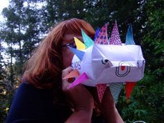 Puffer fish craft .. the only one that I found which actually demonstrates the fish getting larger