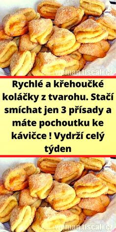 Czech Recipes, Sweet Desserts, Pretzel Bites, Ham, French Toast, Bread, Homemade, Vegetables, Cooking