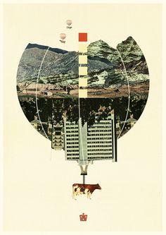 Waltz for Koop // Koop  Digital Collage Illustration, DG DESIGN 2011.