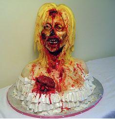 Bloody Girl Cake