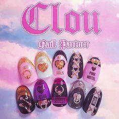 Pin by sohyun cho on 네일 디자인 in 2019 3d Nails, Pink Nails, Cute Nails, Gel Nail Designs, Cute Nail Designs, Japan Nail Art, Diy Your Nails, Gucci Nails, Nail Art At Home