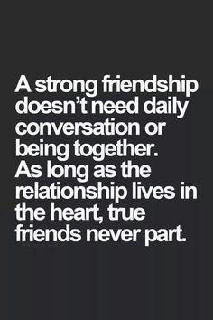 #truefriendsneverpart