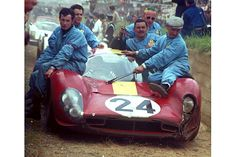 Ferrari 330 (finished in the podium march at Le Mans, Sports Car Racing, F1 Racing, Drag Racing, Sport Cars, Ferrari Racing, Ferrari Car, Road Race Car, Race Cars, Nascar
