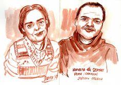Varvara eta Sergei Errusian