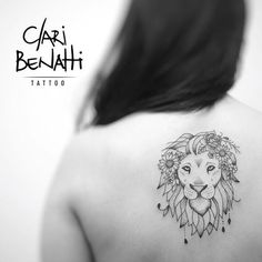 Tatuagens de Leões Femininos - Mais de 120 Modelos - Tatuagens Ideias Leo Lion Tattoos, Bts Tattoos, Finger Tattoos, Tatoos, Piercing Tattoo, I Tattoo, Piercings, Lion Tattoo With Flowers, Small Tattoos