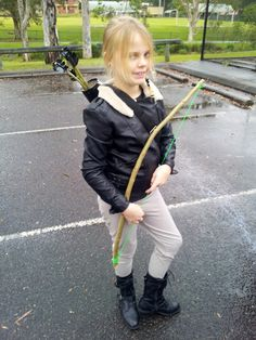 Katniss Everdeen Costume for Book Character Day