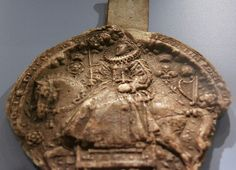 Wax impression of the Great Seal of Queen Elizabeth I by Kotomicreations, via Flickr