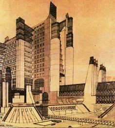 disegni architetture surreali - Cerca con Google