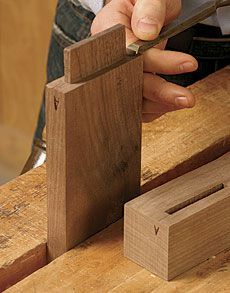 How to Cut Mortise and Tenon Joinery.  Woodworking experts Gary Rogowski, Garrett Hack, Roland Johnson, and others share their tips for success in this roundup of videos and articles from the Fine Woodworking archives
