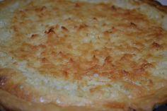 Coconut Custard Pie – Best EVER