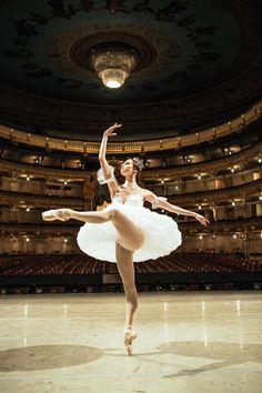 The Mariinsky Ballet's Oxana Skorik Photo by Polina Tverdaya