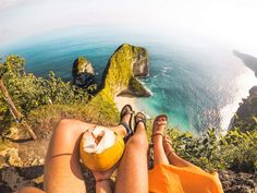 Nusa Penida is the best-kept secret of Bali. It& best to do a Nusa Penida tour for its incredible high coastal cliffs and yet untouched nature. Munduk Bali, Dino Island, Bali Travel, Ultimate Travel, Travel Goals, Travel Couple, Day Tours, T Rex, Landscape Photos