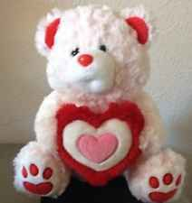 Valentines Day Gift Bear Pink Plush Red Heart Stuffed Animal Love Soft Romance Great Valentines Day Gifts, Valentines Day Treats, Animals For Kids, Hello Kitty, Plush, Teddy Bear, Stuffed Animals, Christmas Ornaments, Toys