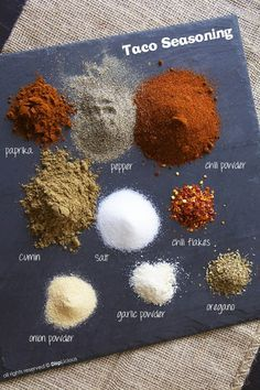 Home-made Taco seasoning