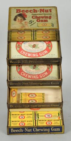 Beechnut Gum Display. : Lot 1536