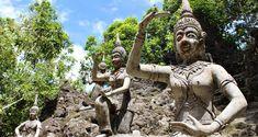 Découvrir le parc Magic Garden à Koh Samui