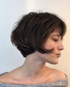 Popular Bob Haircut Ideas For Women In Fall Hairstyles And Haircuts Designs Beliebte Bob-Haarschnitt Cute Hairstyles For Short Hair, Short Hair Cuts, Short Hair Styles, French Hairstyles, Curly Short, Blonde Hairstyles, Layered Hairstyles, Pixie Cuts, Medium Hairstyles