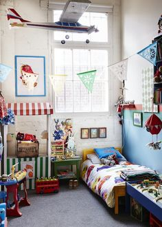 Barnaby's room. Photo - Sean Fennessy. Production – Lucy Feagins / The Design Files.