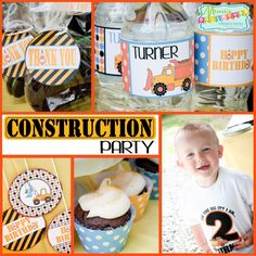 Construction Party: Caution, this party is Under Construction - Mimi's Dollhouse