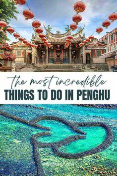 Taiwan Travel, Asia Travel, Travel Tips, Amazing Destinations, Taj Mahal, Things To Do, Island, How To Plan, Things To Make