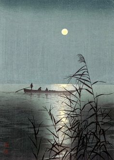 """[""""..the wave exhibits the spiritual nature of the moon""""]  The Allen Ginsberg Project: Haiku - 2 (Zenrin-kushu continues)"""