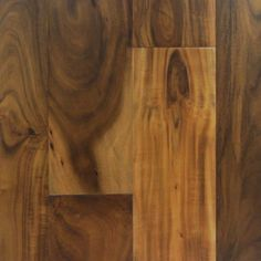 Lowes: Natural Floors by USFloors Exotic 4.72-in W Prefinished Acacia Locking Hardwood Flooring (Natural
