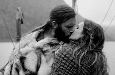 #vikings #rollo and siggy | via Tumblr | We Heart It