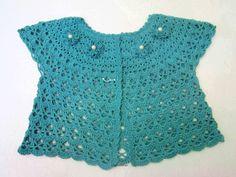 crochet cute jacket