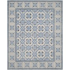 Shop for Safavieh Handmade Bella Ivory / Blue Wool Rug (8' x 10'). Get free shipping at Overstock.com - Your Online Home Decor Outlet Store! Get 5% in rewards with Club O!